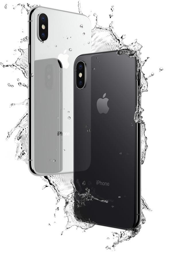 iPhone X water resistant / Photo: Apple