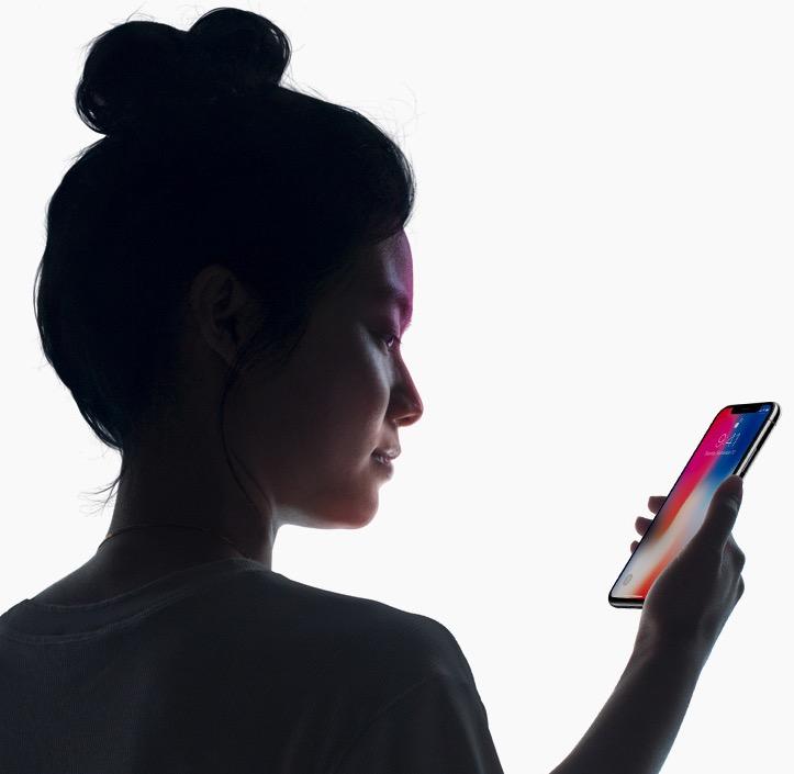 iPhone X - Face ID / Photo: Apple